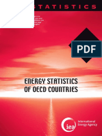 IEA 2014 Energy Statistics of OECD Countries