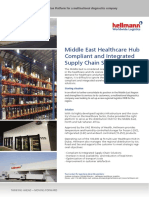 Case Study - Healthcare Logistics in the Middle East