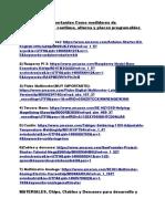 Lista Completa de Herramientas y Materiales