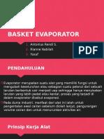 BASKET EVAPORATOR.pptx