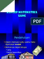 Ekonomi Rekayasa. Pert. 2 Konsep Matematika Uang