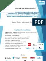 Informe de Prácticas Pre Profesionales - Ramírez Rojas Juan de Dios