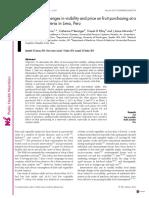 Public Health Nutrition - Paper Frutas