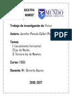 FISICA Trabajo de Investigacion