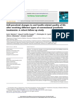 Self-perceived Changes in Oral Health-r...c Treatments- A Cohort Follow-up Study
