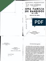 Una Familia de Bandidos en 1793. Relato de Una Abuela - Juan Charruau