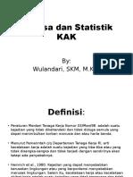 Pertemuan 10. Analisa Dan Statistik KAK