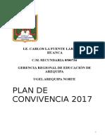 Plan Convivencia 2017
