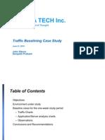 Baseline Opnet10 Case Study