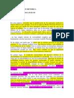 La Justificacion Retorica de Los Principios Lógicos.