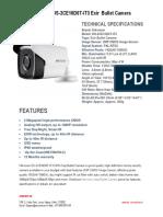 Hikvision DS-2CE16D0T-IT3 EXIR 2mp Bullet Camera,Security Camera-securekart