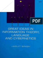 Great Ideas in Information Theory, Language and Cybernetics by Jagjit Singh