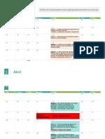 Calendario Académico NEE EDPA EDBA