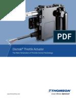 Electrak Throttle Actuator Bruk