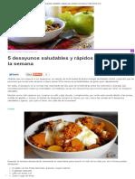 5 Desayunos Saludables y Rápidos Para Empezar La Semana _ Todos Somos Uno