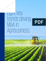Eight Key Trends Driving MA in Agribusiness
