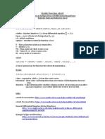 Matlab Function Ode45