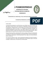 La filosofía del posmodernismo.docx