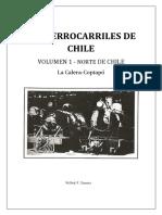 """Chile, """"Los Ferrocarriles  de Chile , La Calera - Copiapó"""""""