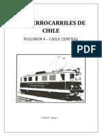 """Chile, """"Los Ferrocarriles de Chile, Chile Central"""""""