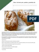 Pan de Manzana Del Libro Hornear Pan Pastas y Pasteles de DanLepard