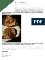 Pan de Leche Sin Gluten y Sinlactosa