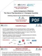 COCOPS - Cross Country Comparison of Reforms