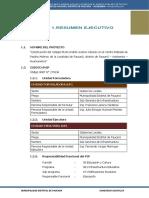 1. Memoria Descriptiva Expediente Tecnico Paccho Molinos