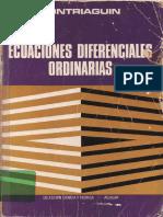 PONTRIAGUIN, L. S. - Ecuaciones Diferenciales Ordinarias