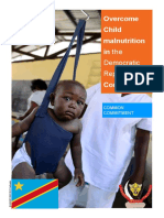 Overcome Child malnutrition in the Democratic Republic of Congo