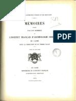 Le Livre Des Rois d'Égypte de La XIXe à La XXIVe Dynastie - H. Gauthier