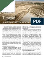 Timgad—a Buried City Reveals Its Secrets