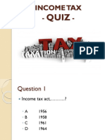 Income Tax Quiz