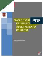 Plan Igualdad Del Personal Municipal de Úbeda 2017-2021