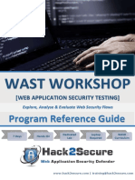 Hack2Secure Web Application Security Testing Workshop Reference Guide