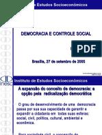 1 - Democracia e Controle Social
