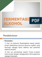 6. Pembuatan Alkohol (Bioetanol)
