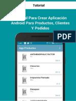 App Productos Clientes Pedidos Muestra Gratuita
