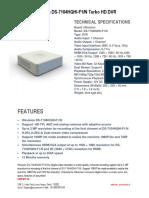 Hikvision DS-7104HQHI-F1-N Turbo HD DVR -Securekart