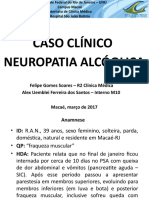 Caso Clínico de Neuropatia Alcóolica