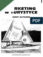 Altkorn J. - Marketing w Turystyce