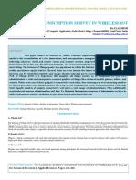Iaetsd--jaras-Energy Consumption Survey in Wireless Iot