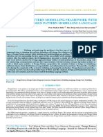 Iaetsd-jaras-Design Pattern Modelling Framework With