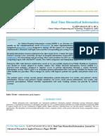 IAETSD-JARAS-Real Time Biomedical Information