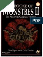 Call of Cthulhu RPG - Ye Booke of Monstres 2 (2358)