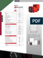 2.1.2 Brosur Alternator Generator STAMFORD HC4