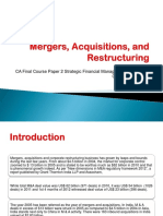 Merger Acquisition & Restructuring Ppt