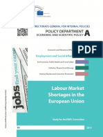 Labour Market Shortages in EU