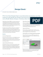 PTC Creo View Design Check Datasheet