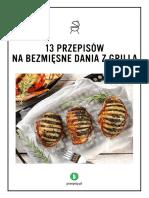 13 Przepisów Na Bezmięsne Dania z Grilla